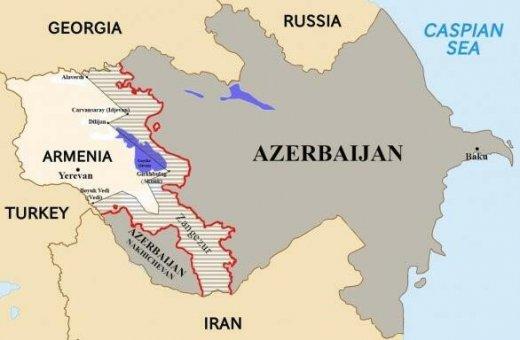 Ordumuz Ermənistana 30 km daxil olmalıdır - Xəritə