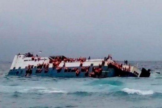 Aralıq dənizində gəmi batdı: 17 nəfər boğuldu