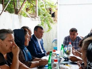 Prezident İlham Əliyev şəhid jurnalistlərə ev verib - ŞƏKİL