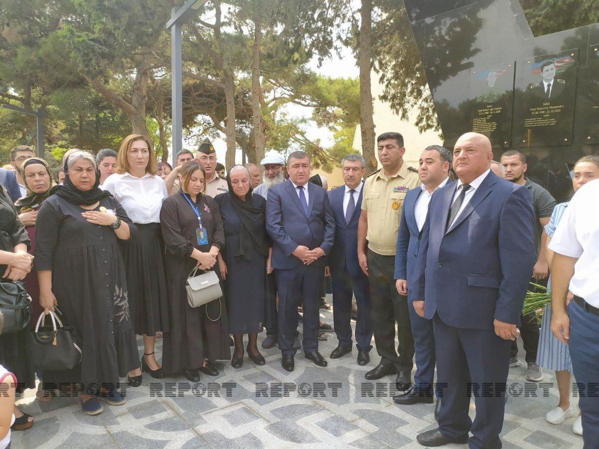 Bakıda Polad Həşimov parkı istifadəyə verildi