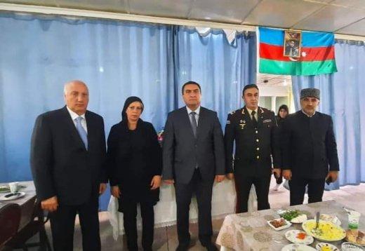 Sumqayıtda Vətən müharibəsi şəhidlərinin il mərasimi keçirilib - Şəkillər